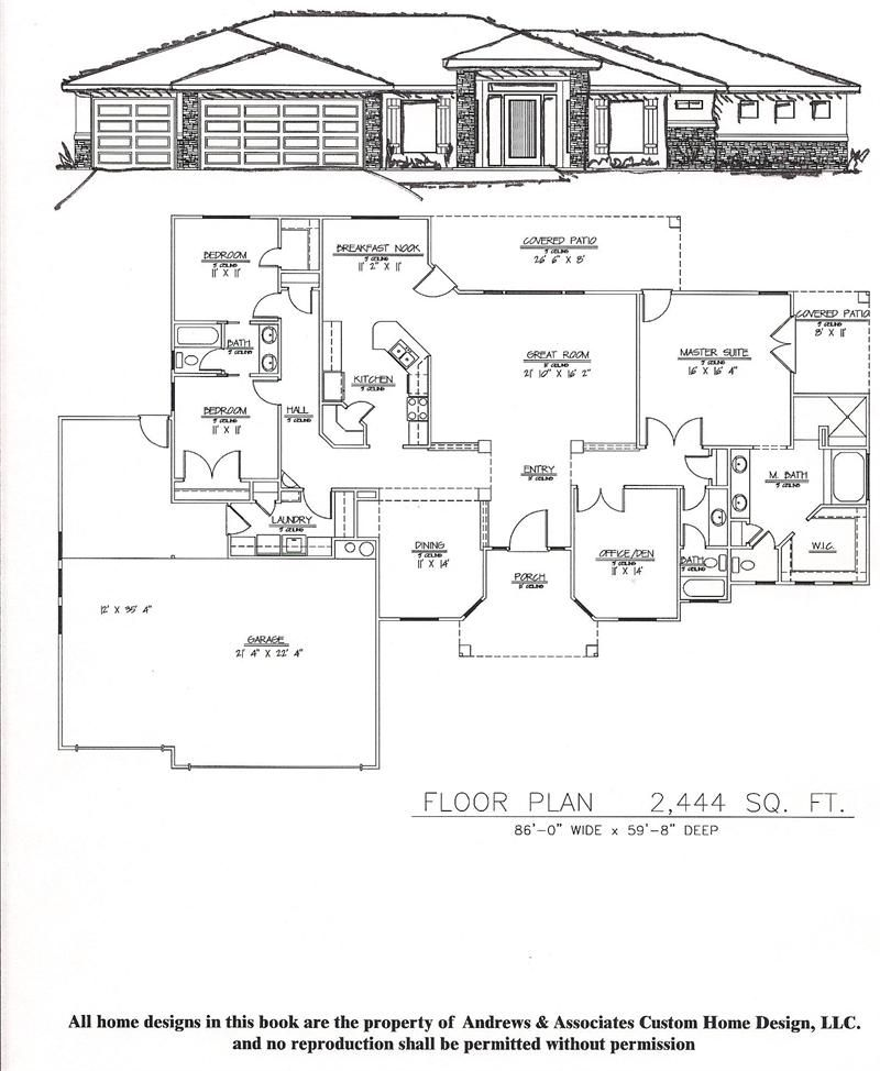 2 001 2 500 Square Foot Plans Wright Brothers Homes My House Plans Luxury House Plans Bungalow House Floor Plans