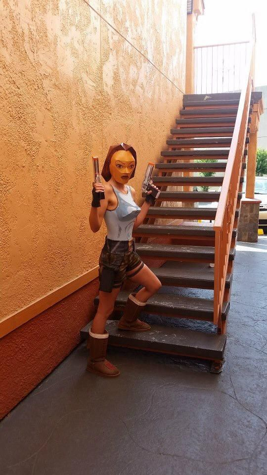 Tomb Raider. Curated by Suburban Fandom, NYC Tri-State Fan Events: http://yonkersfun.com/category/fandom/