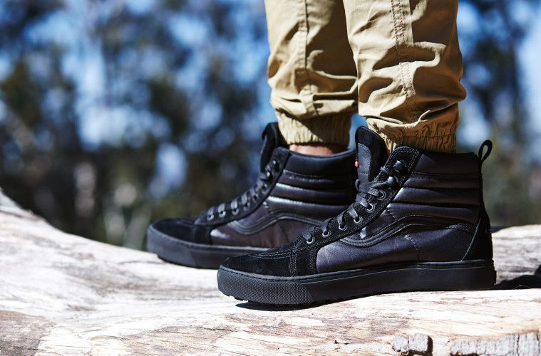 e4c5fe314 The North Face x Vans Sk8-Hi On-Foot Look | Thenorthface x Vans ...