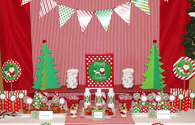 North pole breakfast. | Christmas Tablescapes ~ Vignettes ~ Events