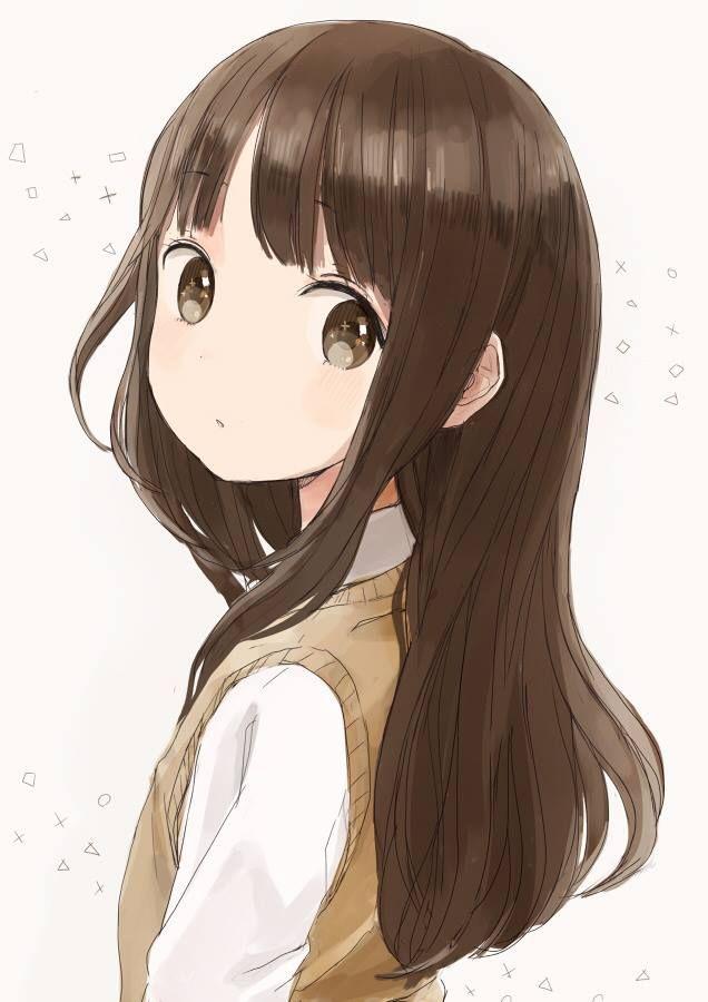 Pin Oleh Hao Wang Di Hanako Aozora Anime Neko Gadis Animasi Seni Anime
