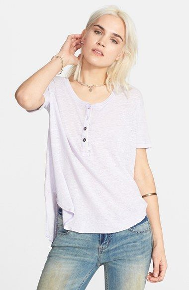 Free People 'Downtown Girl' Henley available at #Nordstrom