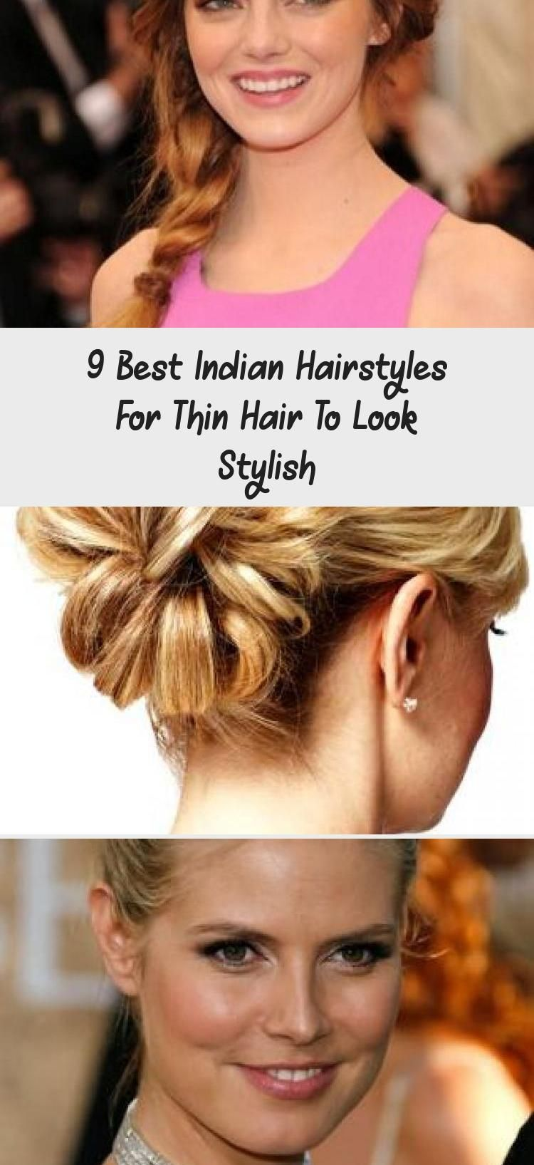 9 best indian hairstyles for thin hair to look stylish