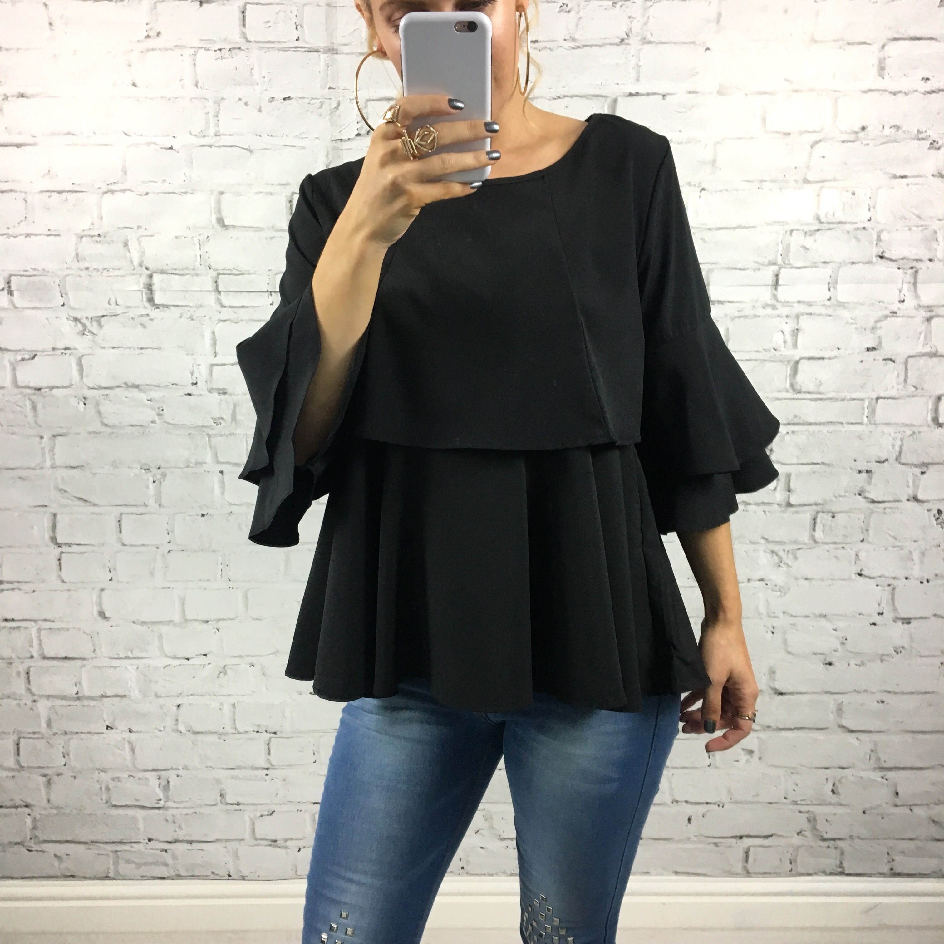 Our Two Tier Melina Top Is Pretty As They Come £26.95