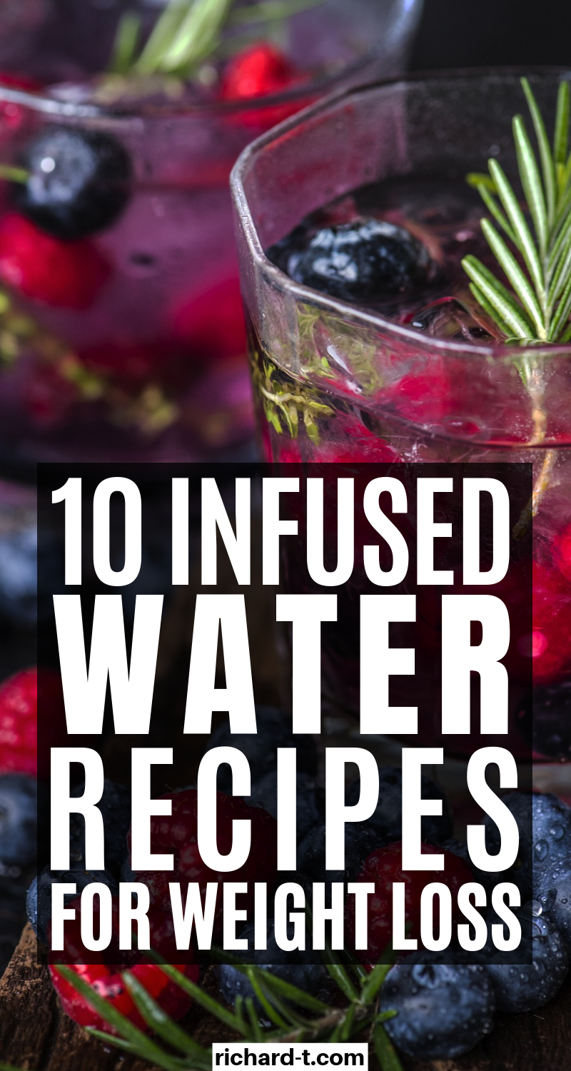 10 Delicious Infused Water Recipes Perfect For Weight Loss images