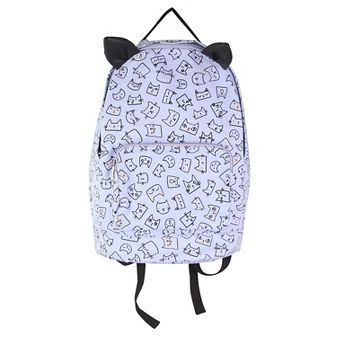Girls' Kitty Print With Ears Handbags Cat & Jack™ - Lavender
