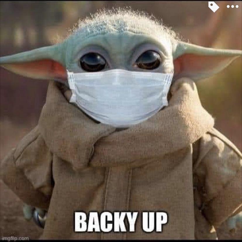 Baby Yoda Social Distancing Yoda Images Yoda Pictures Yoda Funny