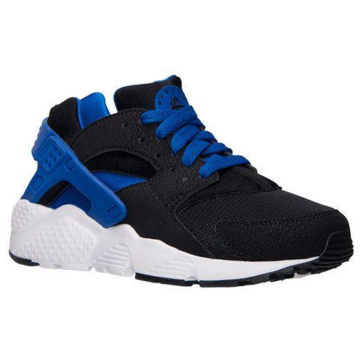 Boys Grade School Nike Huarache Run Running Shoes 654275 005