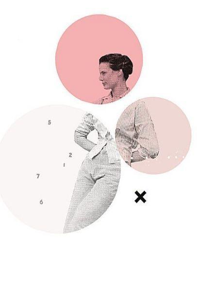 40 trendy design layout portfolio circles