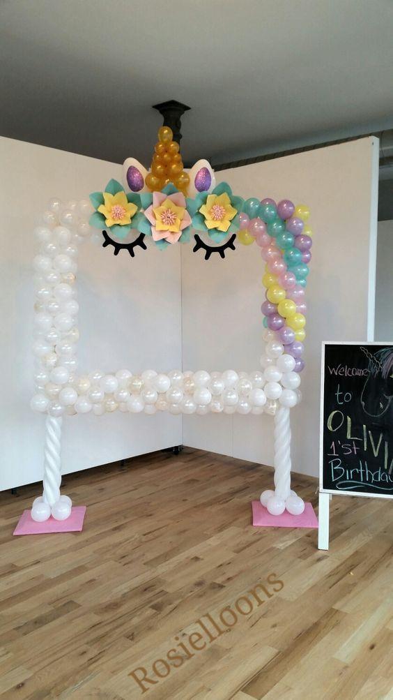 Geniales ideas para fiestas de unicornios unicornio - Ideas para decoracion ...