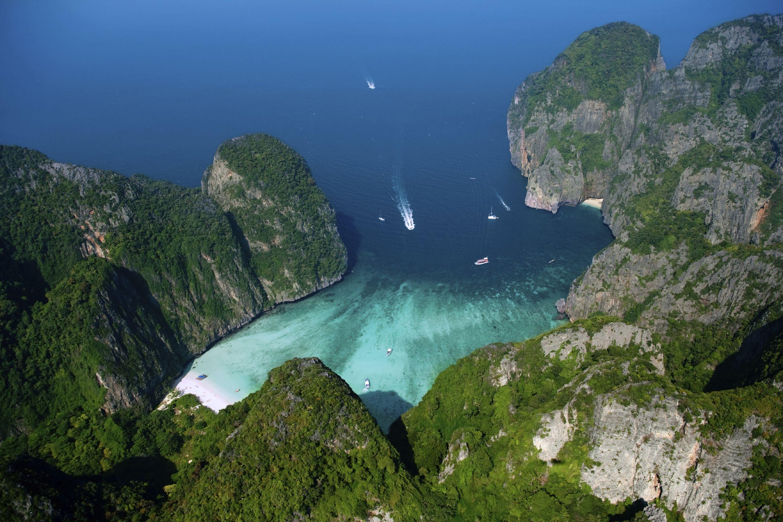 Thailande KohPhiPhi Les îles Phi Phi sont un petit