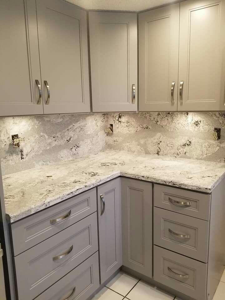 Kitchen In 2019 Grey Kitchen Cabinets White Kitchen