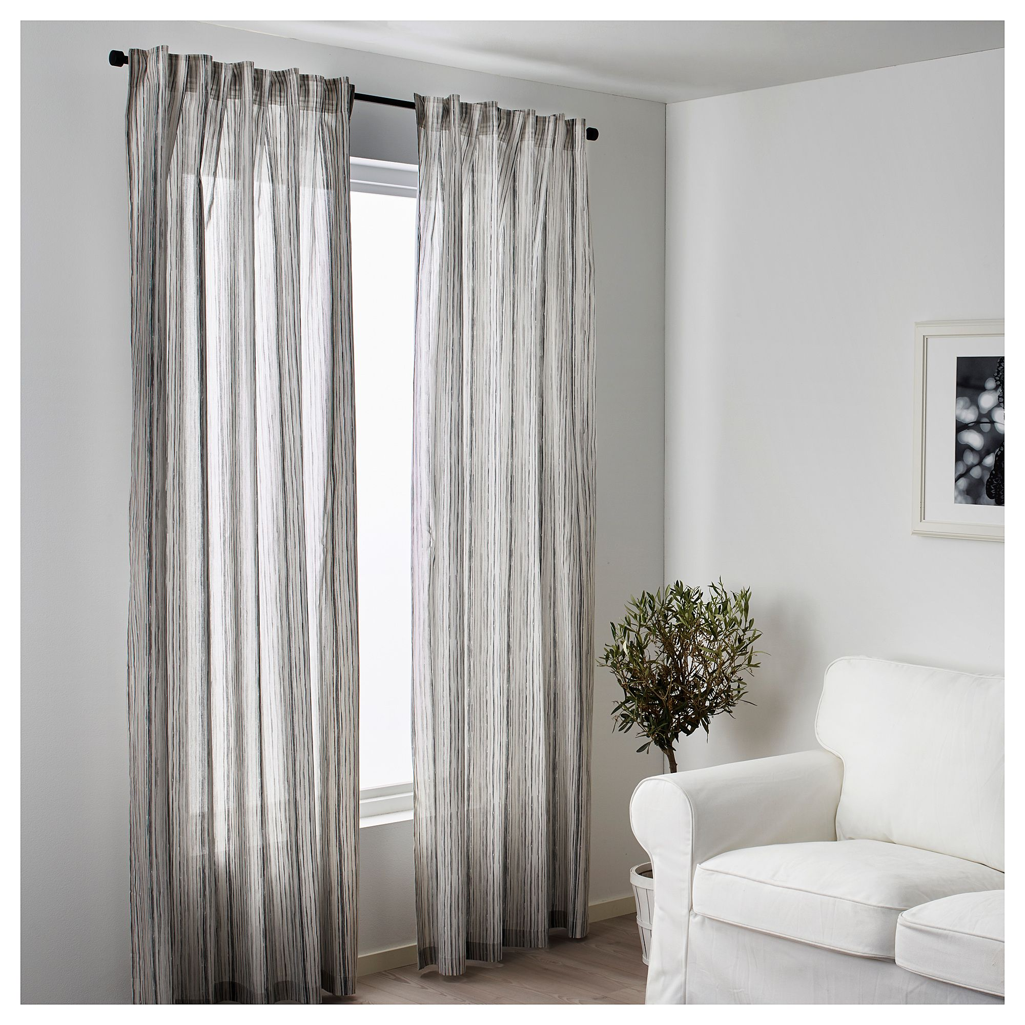 Ikea Dagrun Curtains 1 Pair The Curtains Let The Light