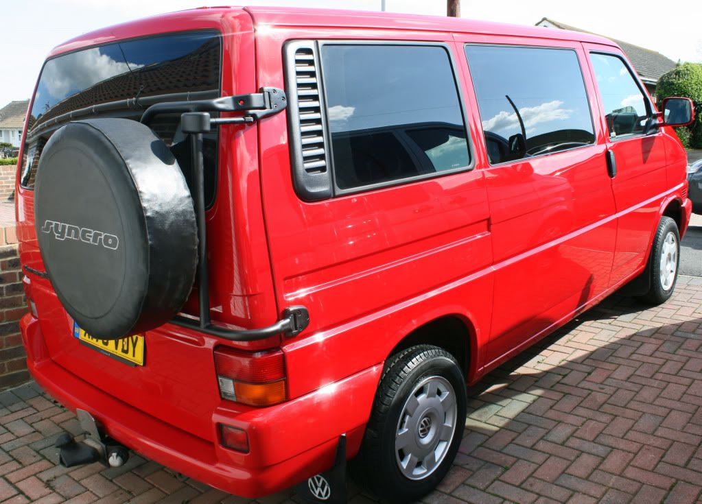 t4 syncro spare wheel carrier google search vw van. Black Bedroom Furniture Sets. Home Design Ideas