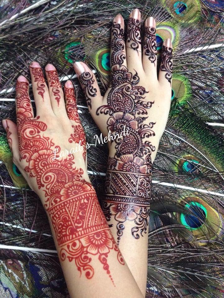 Cool Mehndi Designs: Laraib's Mehndi Design (With Images)