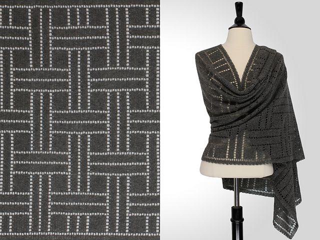Ravelry: Samuel Rectangular Shawl pattern by Steve Rousseau