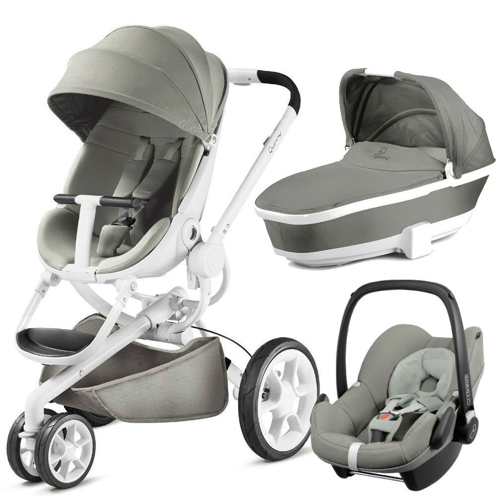 quinny moodd white pebble travel system package grey gravel babies baby prams baby. Black Bedroom Furniture Sets. Home Design Ideas