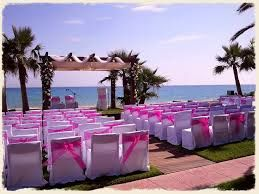 Decoración de eventos -bodas en la playa