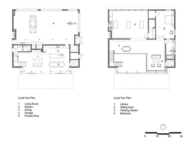 Excellent Minimalist Garden House Interior Design : Minimalist Garden House  Interior Design With Minimalist Layout Plan
