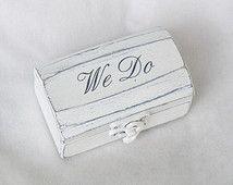 Caja del anillo del anillo de madera caja del anillo de bodas