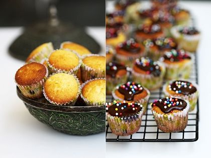 Orange and Chocolate Chip Mini Muffins