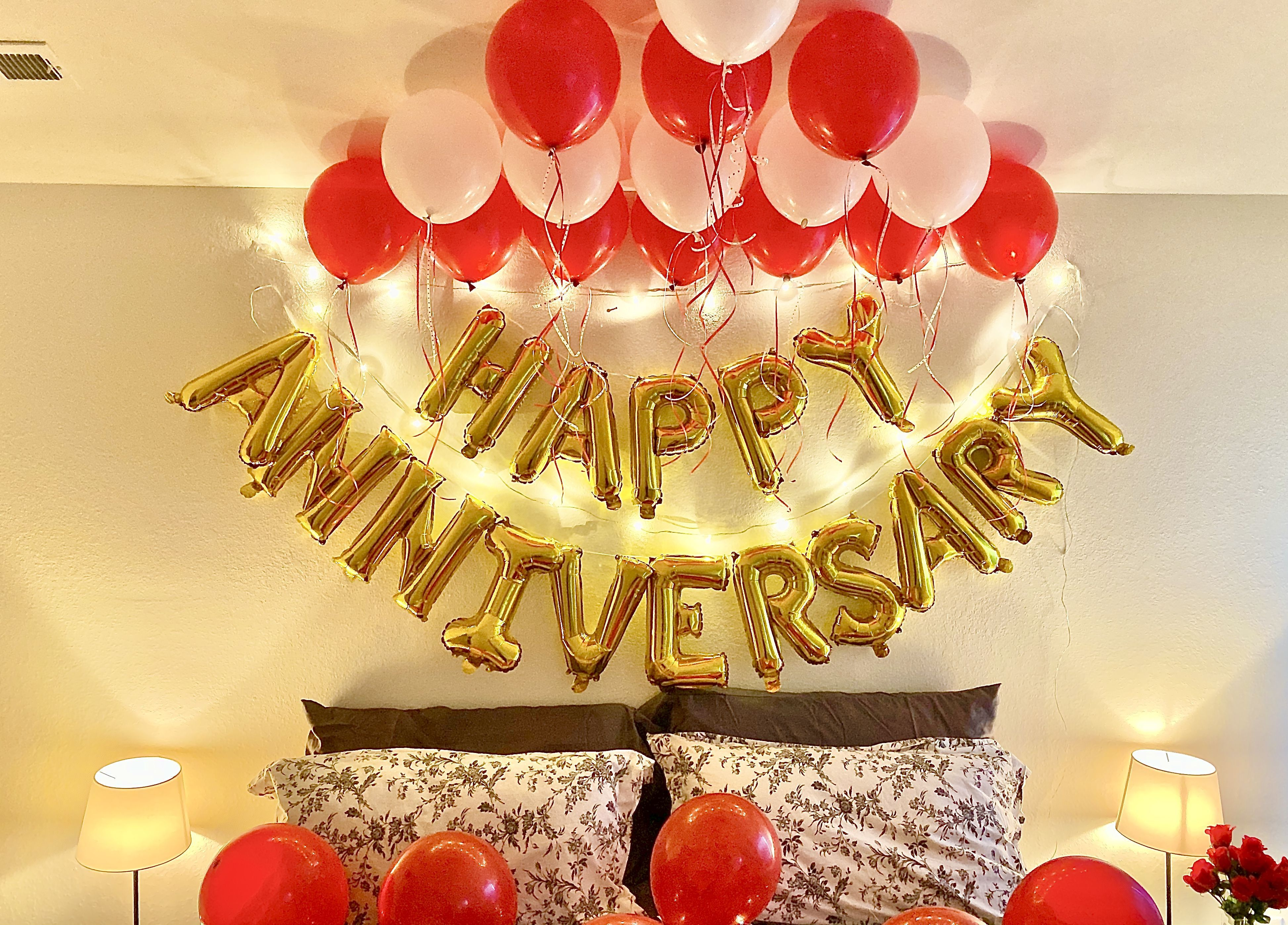 Happy Anniversary Balloons Happy Anniversary Unique Wedding Cards Balloons Balloon flower, balloon decoration ideas for birthday party at home | party decorations subscribe to my channel for more party decoration ideas. happy anniversary balloons happy