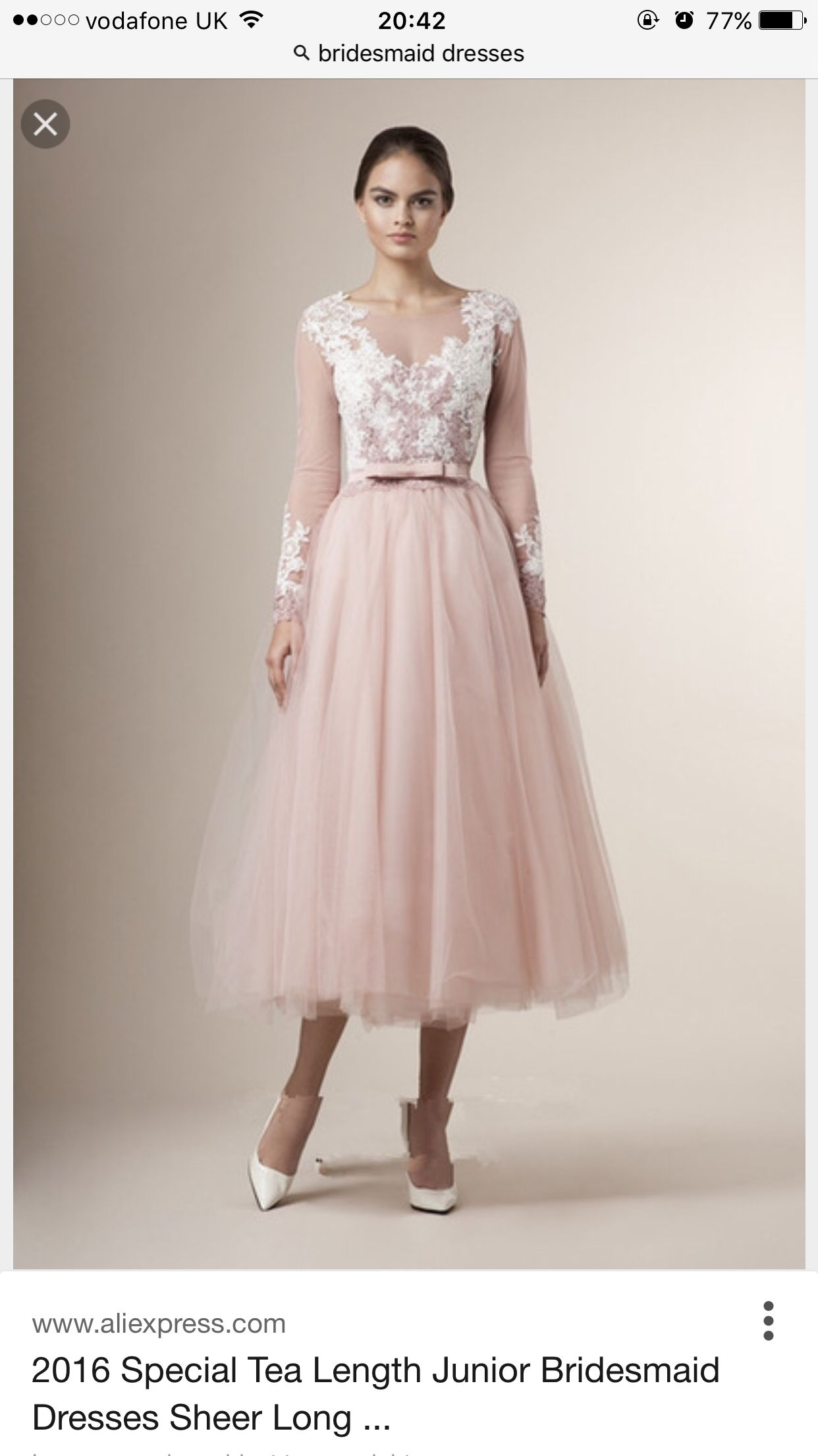 Pin by herzmalerei on wedding her pinterest wedding 2016 special tea length junior bridesmaid dresses sheer long sleeves lace appliques belt bow vintage a line short party bridesmaid dressesweddings ombrellifo Choice Image
