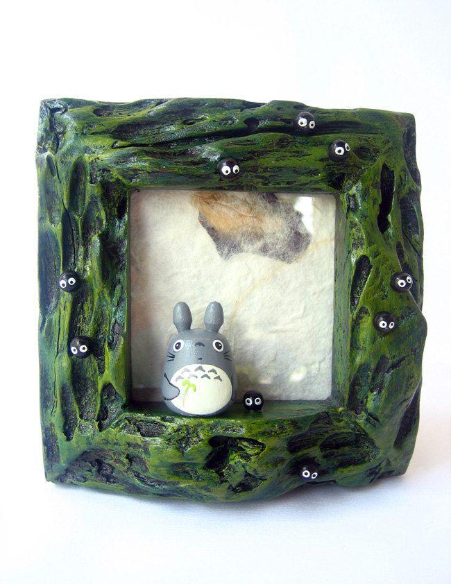 """Unique Studio Ghibli Figure with real Teak wood Series / My Neighbor Totoro """"Totoro"""""""