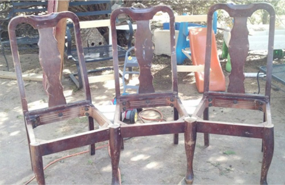 How to turn old chairs into new beautiful benches is it