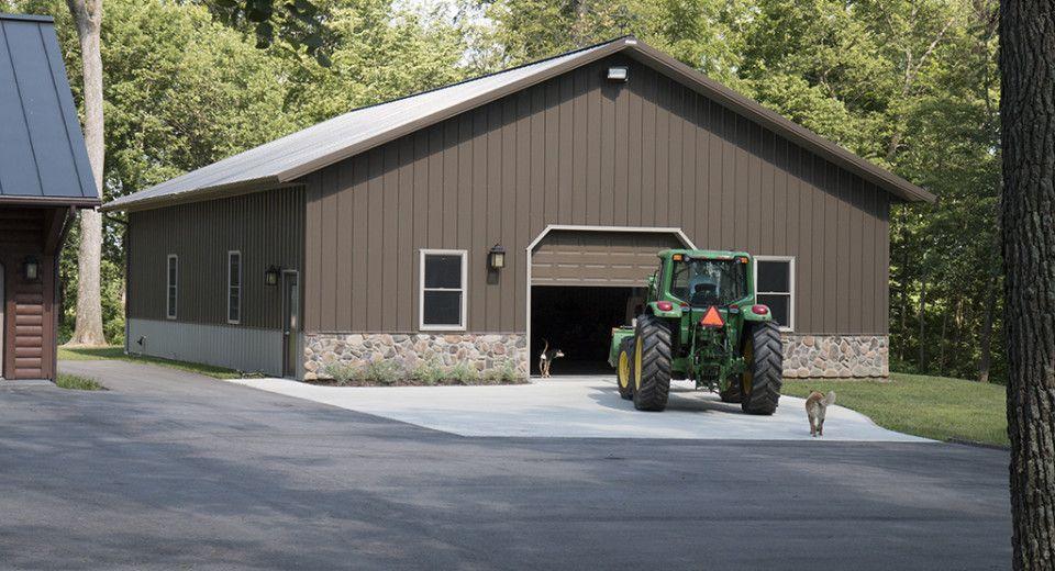 Morton Buildings Garage in Farmland, Indiana Morton