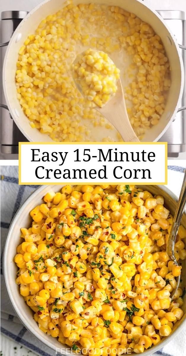 Easy 15-Minute Creamed Corn