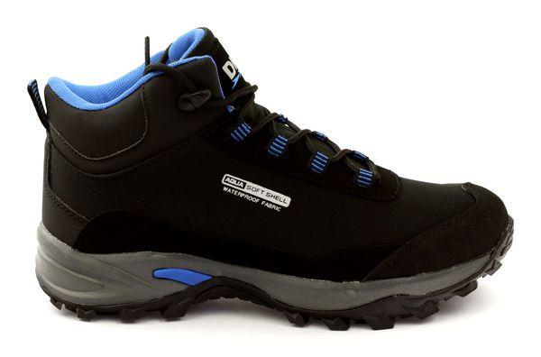 Buty Trekkingowe Softshell Dk 2535 Czarne Niebieskie Sketchers Sneakers Shoes Sneakers