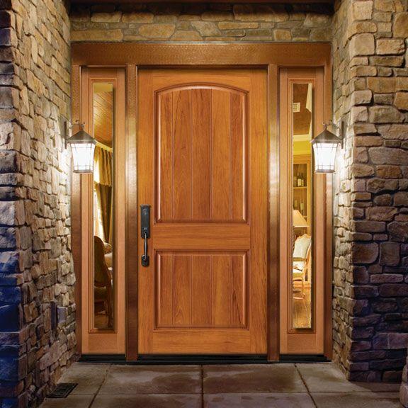 Cedar Exterior Door Adorable Teem Wholesale Inc Masonite Avantguard Sierra In Spanish Cedar Design Inspiration