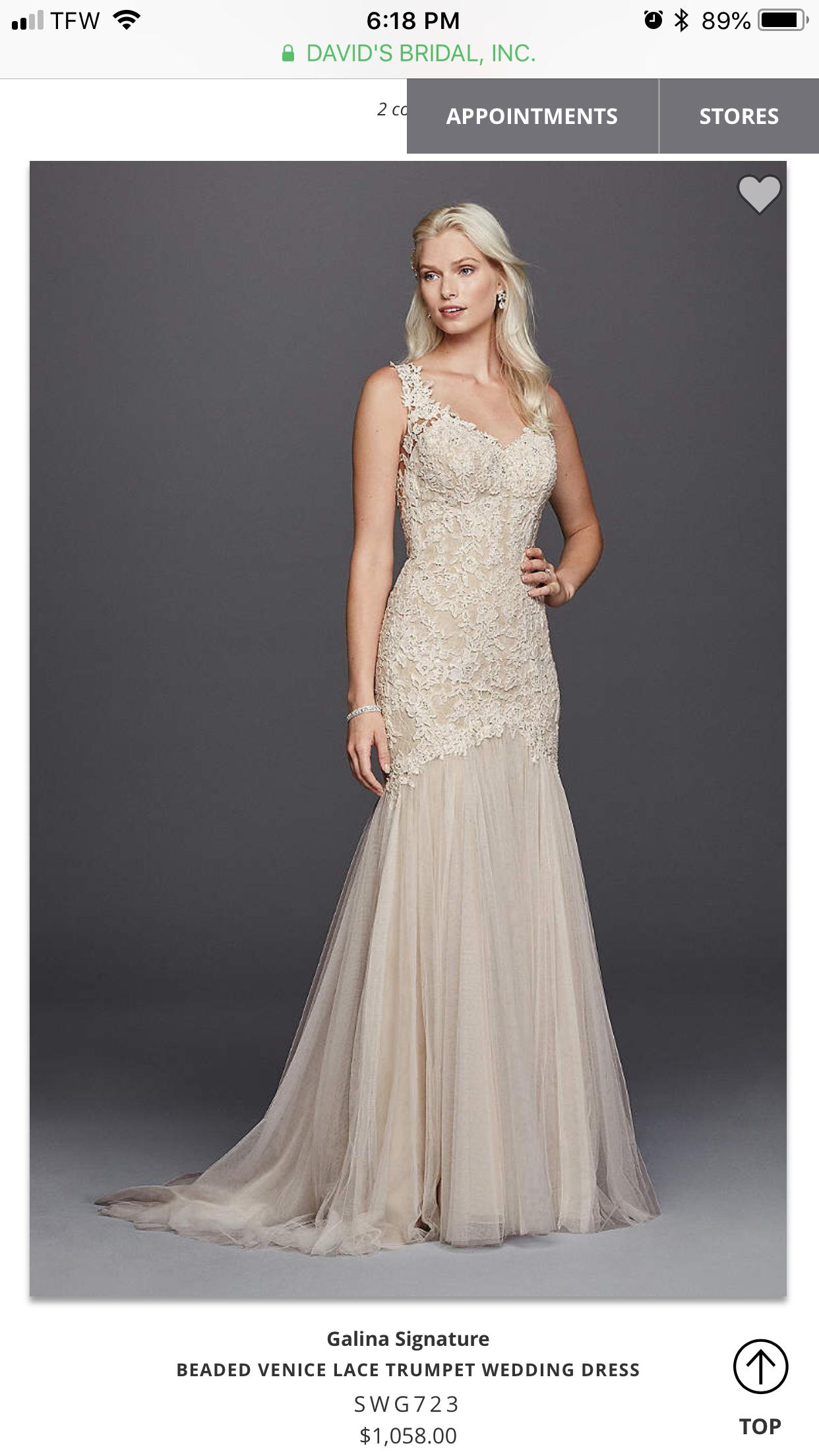 Galina signature wedding dress  Pin by Sabree on Dream wedding ideas in   Pinterest  Dream