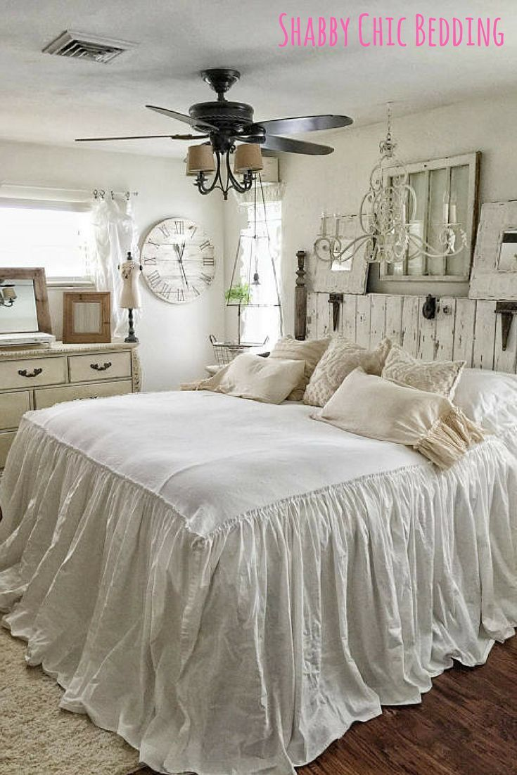 Adorable ruffled shabby chic bedding! Handmade and custom orders ...