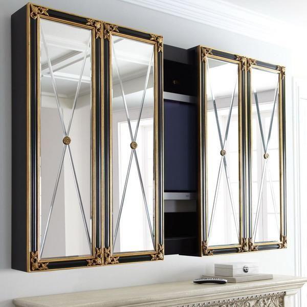 Tv Wall Cabinets Cabinet, Bathroom Mirror Tv Cabinet