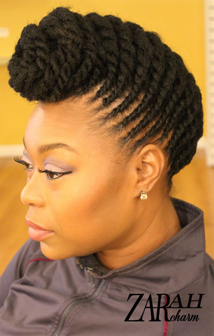 twist styles black hair flat twist mohawk hairstyle fade haircut 7564