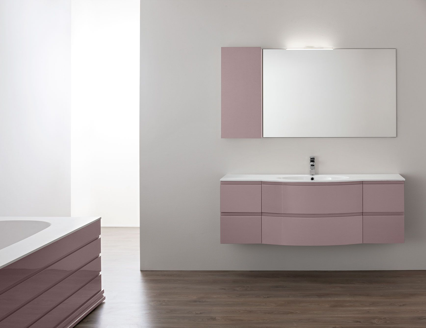 gloss gloss modular bathroom furniture collection. Modern Italian Bathroom Vanity Shown In 61\ Gloss Modular Furniture Collection M