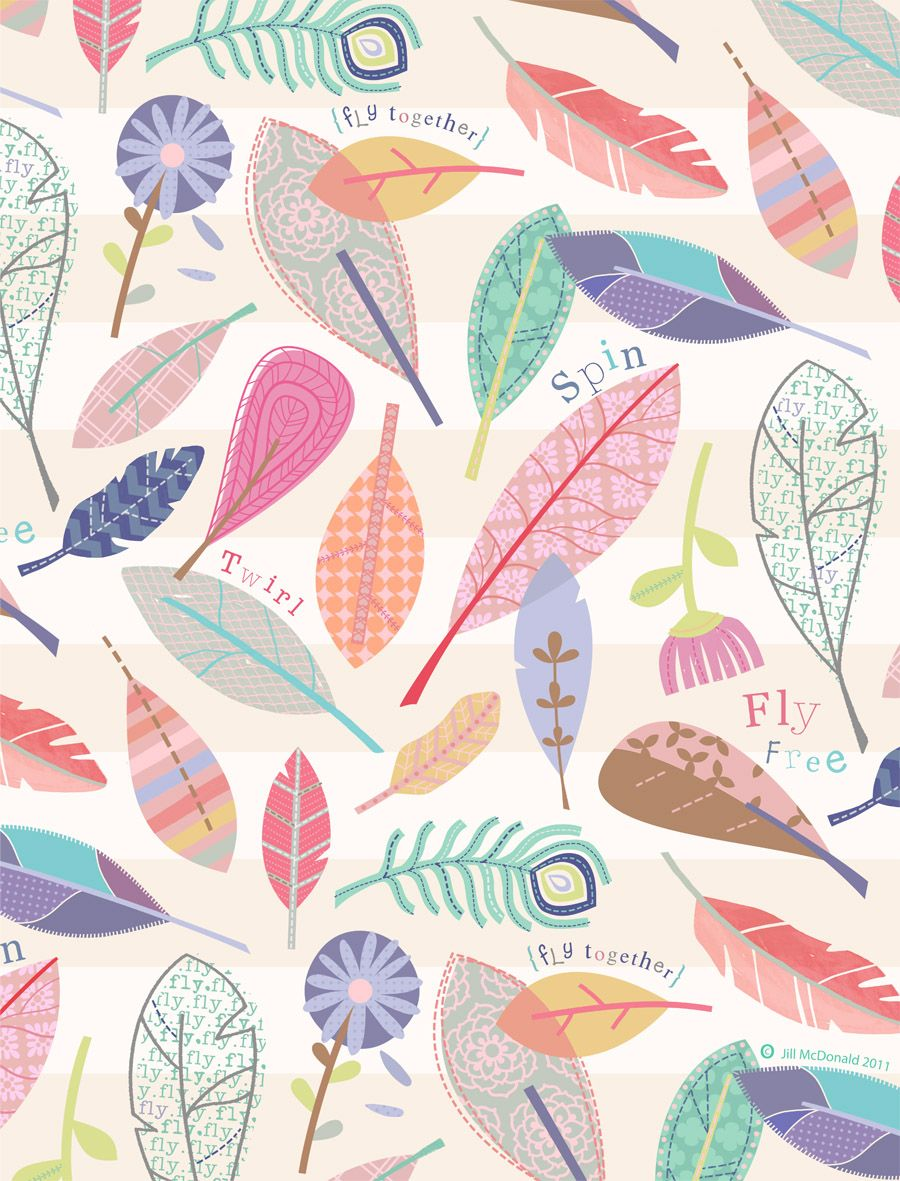 In the Air by jill mcdonald | Pattern Love | Pinterest ...