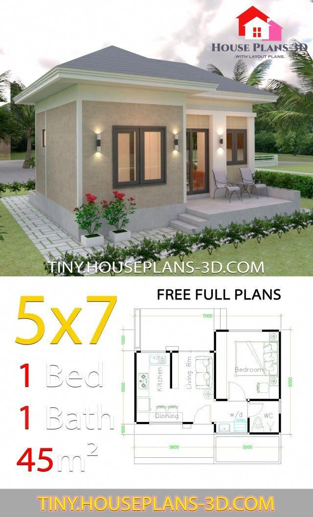 This Unique Photo Is Certainly An Inspiring And Splendid Idea Shippingcontainertinyhome In 2020 Guest House Plans Small House Design Plans One Bedroom House Plans