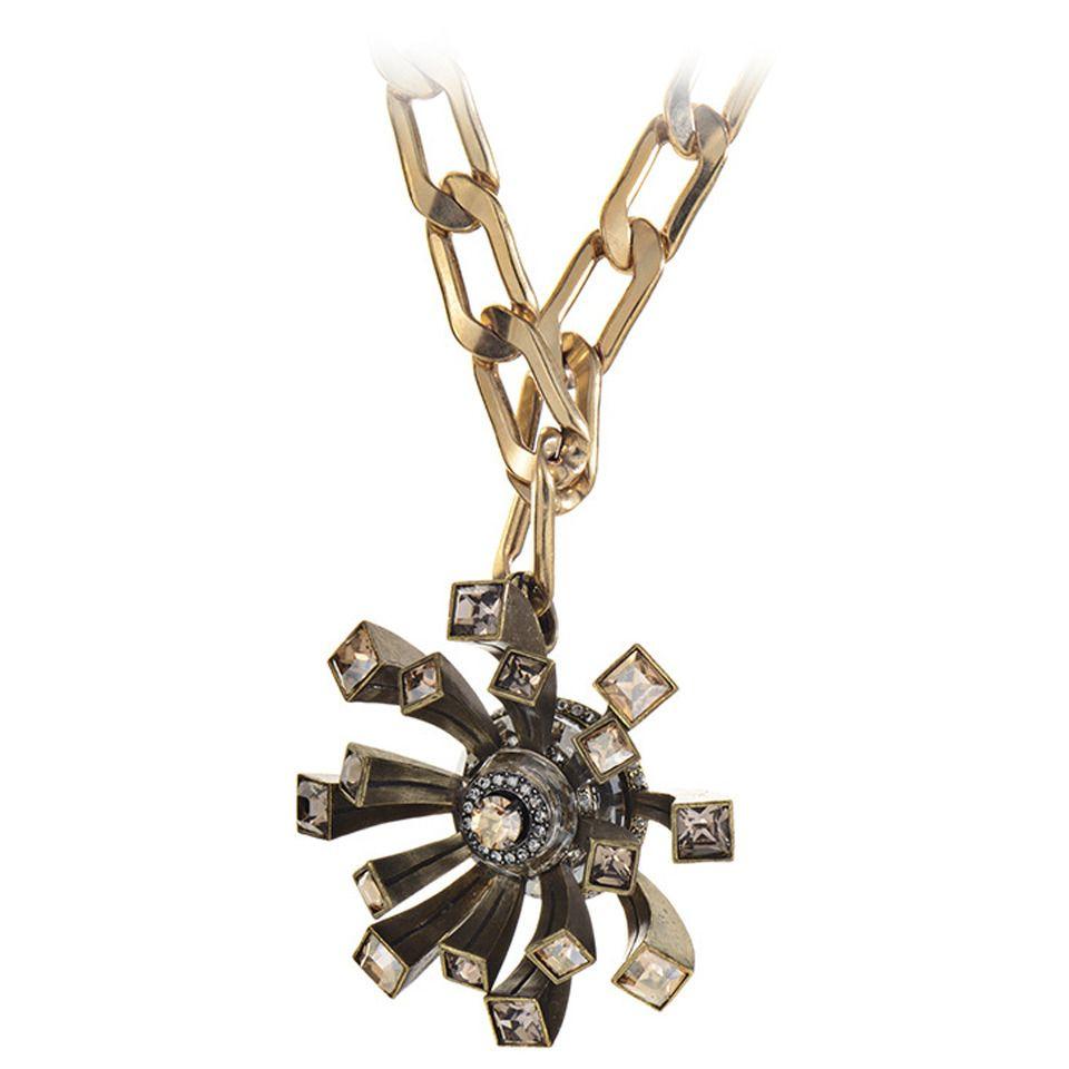 Lanvin Costume Brooch/Pendant Necklace | 1stdibs.com
