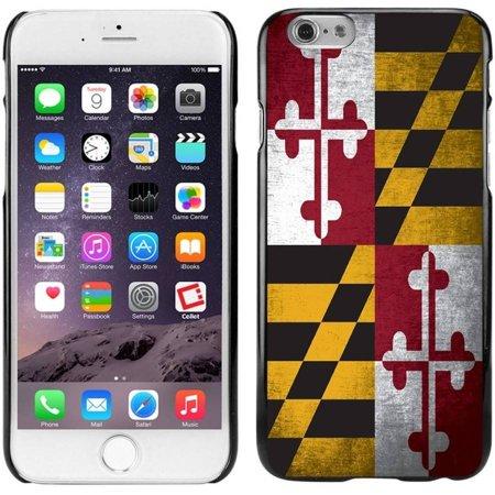 Cellet Black Proguard Case with Vintage Maryland Flag for