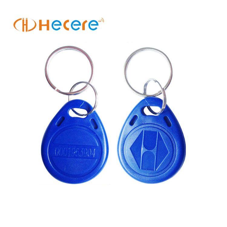 Hot sale lf 125khz rfid tk4100 keyfob with low price