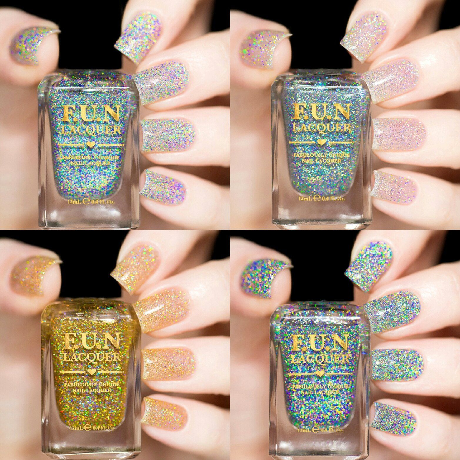 Holo Toppers Collection Set | All About Nails | Pinterest | Fun ...