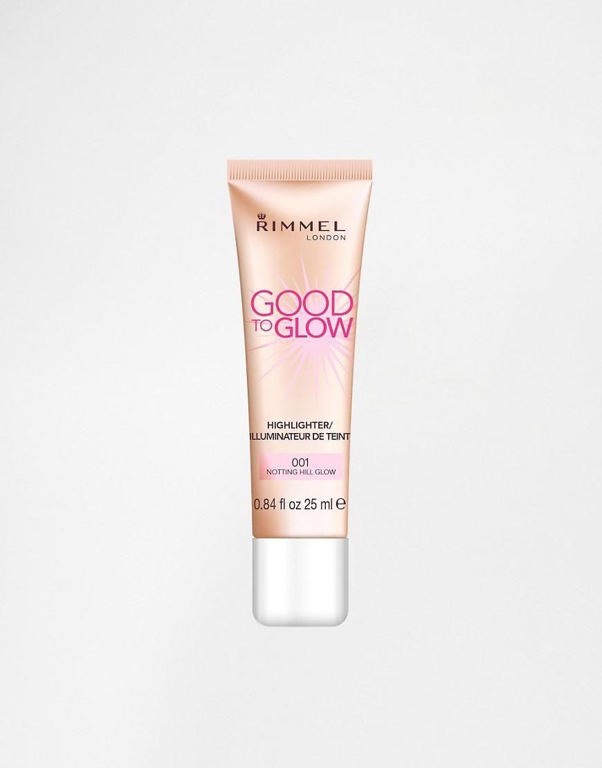 Good Drugstore Eyeshadow Palettes: Rimmel London Good To Glow Highlighter