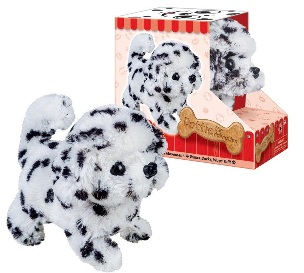 Dalmatian Lifelike Stuffed Animal Toy Puppy Gifts Pet Toys Dog