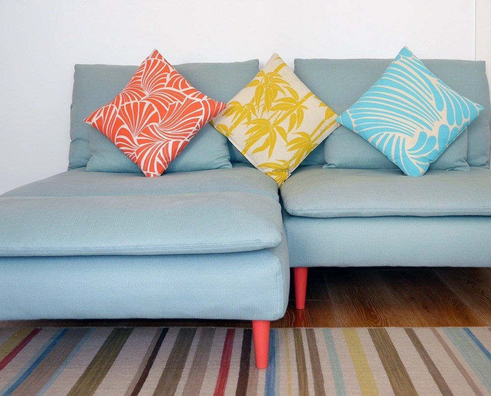 ikea hack #ikeahacks sofa füsse leg heads ikea furniture legs