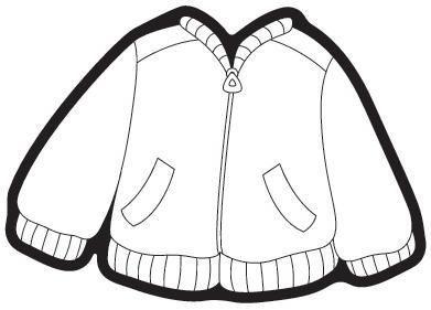 Kışlık Giysiler Boyama Sayfaları Sanat Etkinlikleri Winter Theme