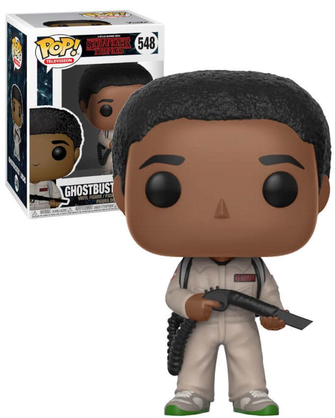 STRANGER THINGS 548 GHOSTBUSTERS LUCAS VINYL FIGURE FUNKO POP