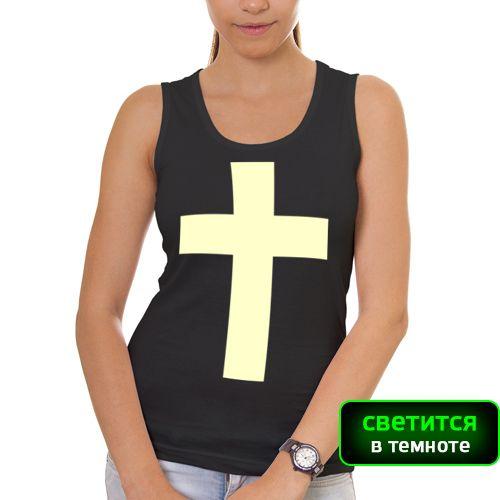 Купить прикольные футболки с принтами и рисунками, на заказ в интернет-магазине PodarokMuzhchinei.RU |Каталог |Светящийся крест